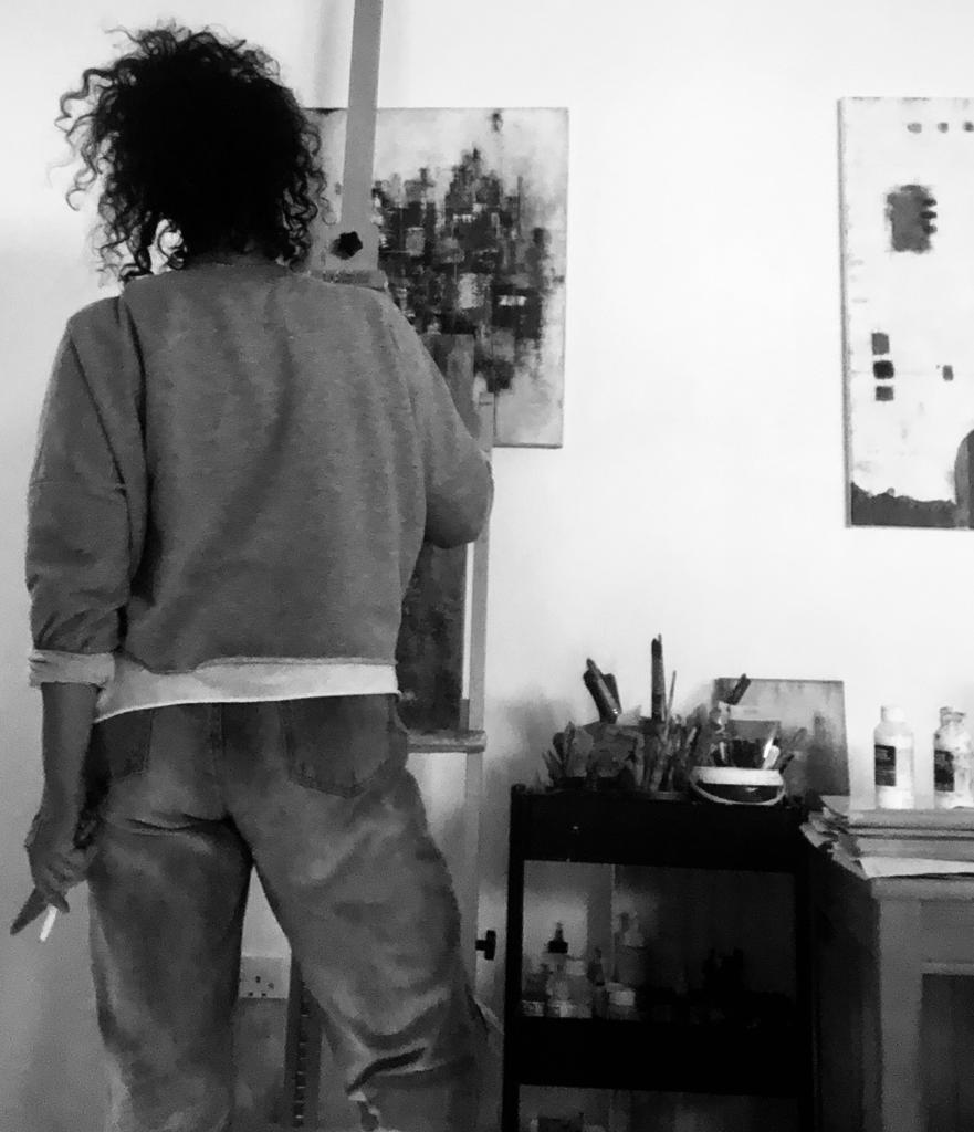 Clari Pic painting 2